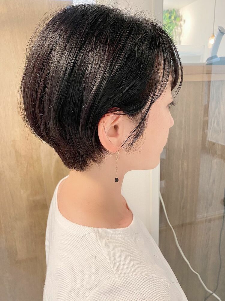 銀座/VIE/つばさ☆カットが上手い◎大人女性のスッキリショートヘア