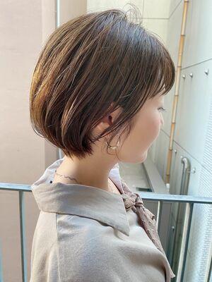 銀座/VIE/つばさ☆カットが上手い◎ふんわり大人可愛いショートボブ