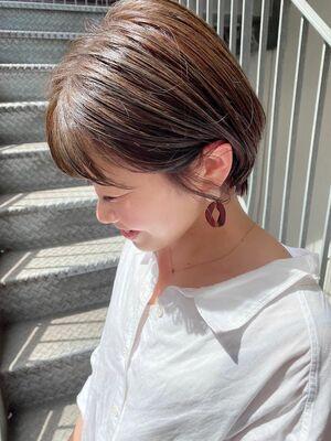 銀座/VIE/つばさ☆カットが上手い◎大人可愛い耳掛けショートヘア