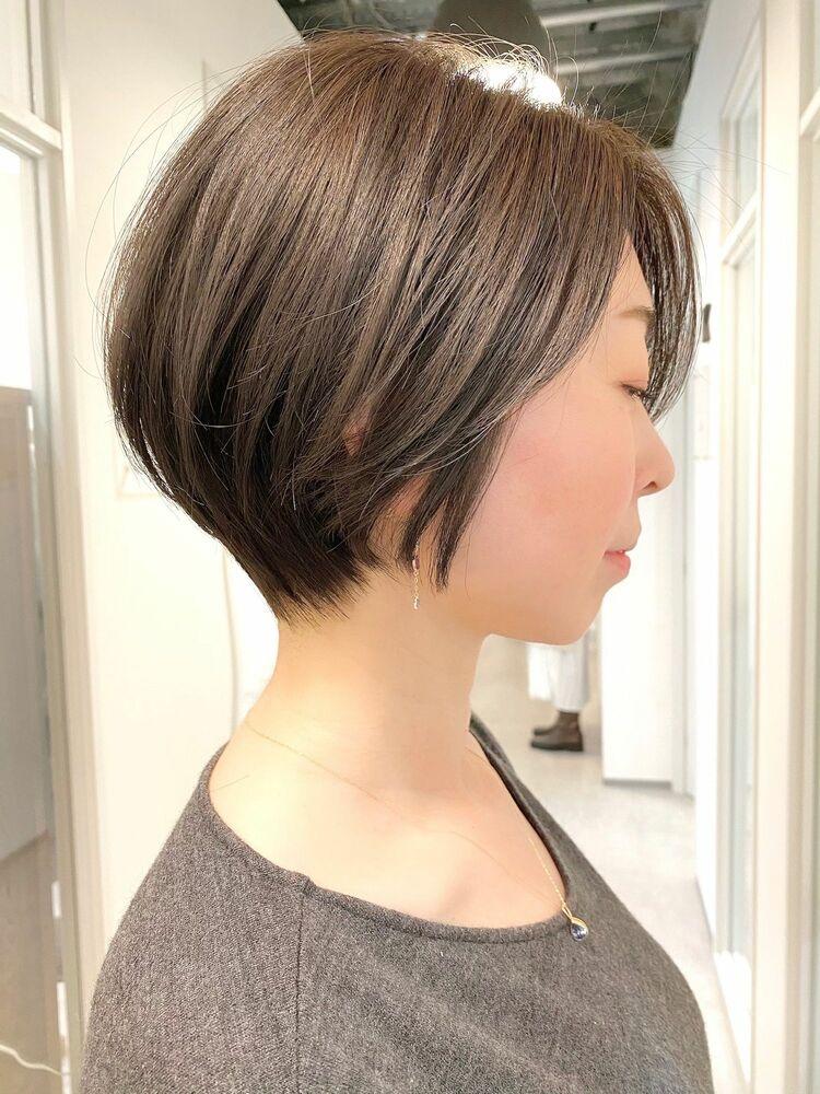銀座/VIE/つばさ☆カットが上手い◎大人女性のショートヘア
