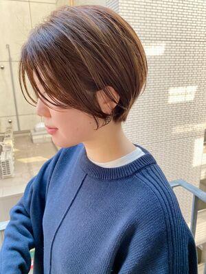 銀座/VIE/つばさ☆カットが上手い◎大人女性のふんわりショートボブ