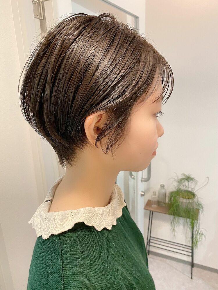 銀座/VIE/つばさ☆カットが上手い◎スッキリまとまるショートヘア