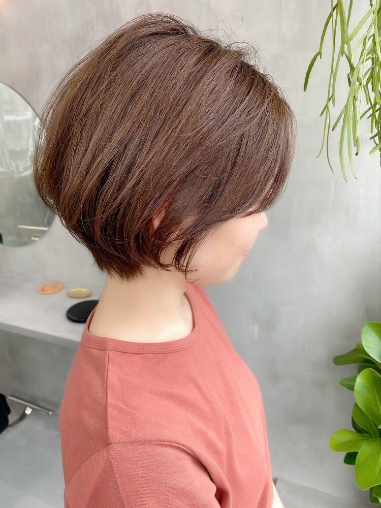 表参道・青山/VIE/つばさ☆カットが上手い◎ふんわり女性らしいショートボブ