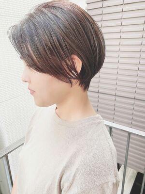 銀座/VIE/つばさ☆カットが上手い◎大人女性のハンサムショート
