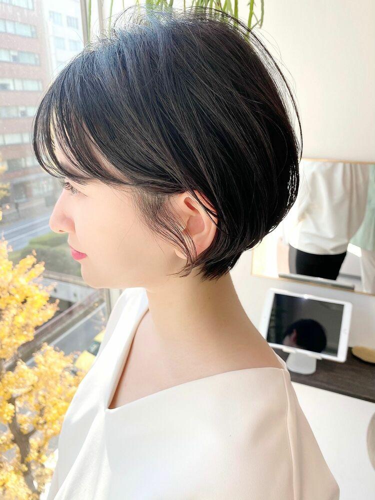銀座/VIE/つばさ☆カットが上手い◎女性らしいふんわりショートヘア