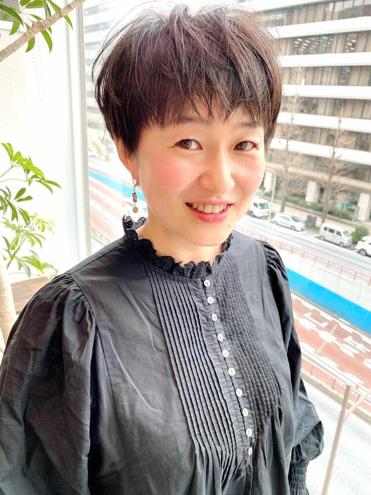 表参道・青山/VIE/つばさ☆カットが上手い◎大人女性のスッキリショートヘア