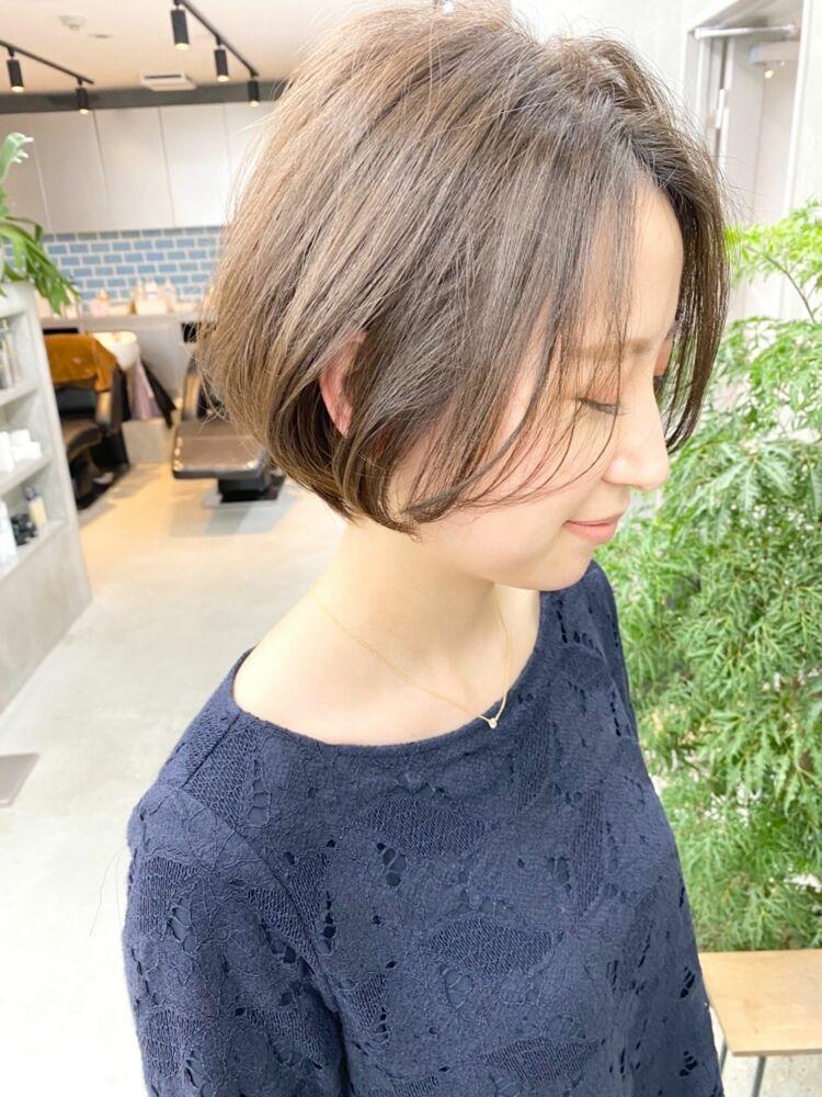 表参道・青山/VIE/つばさ☆カットが上手い◎ふんわり可愛いショートボブ