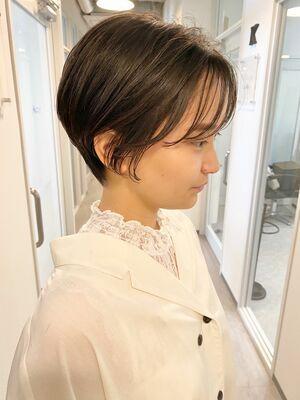 銀座/VIE/つばさ☆カットが上手い◎スッキリオシャレなハンサムショート