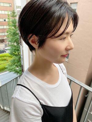 銀座/VIE/つばさ☆カットが上手い◎大人可愛いハンサムショート