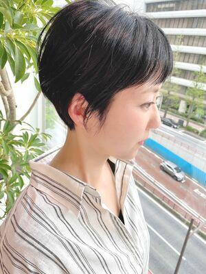 銀座/VIE/つばさ☆カットが上手い◎大人女性のスッキリショート