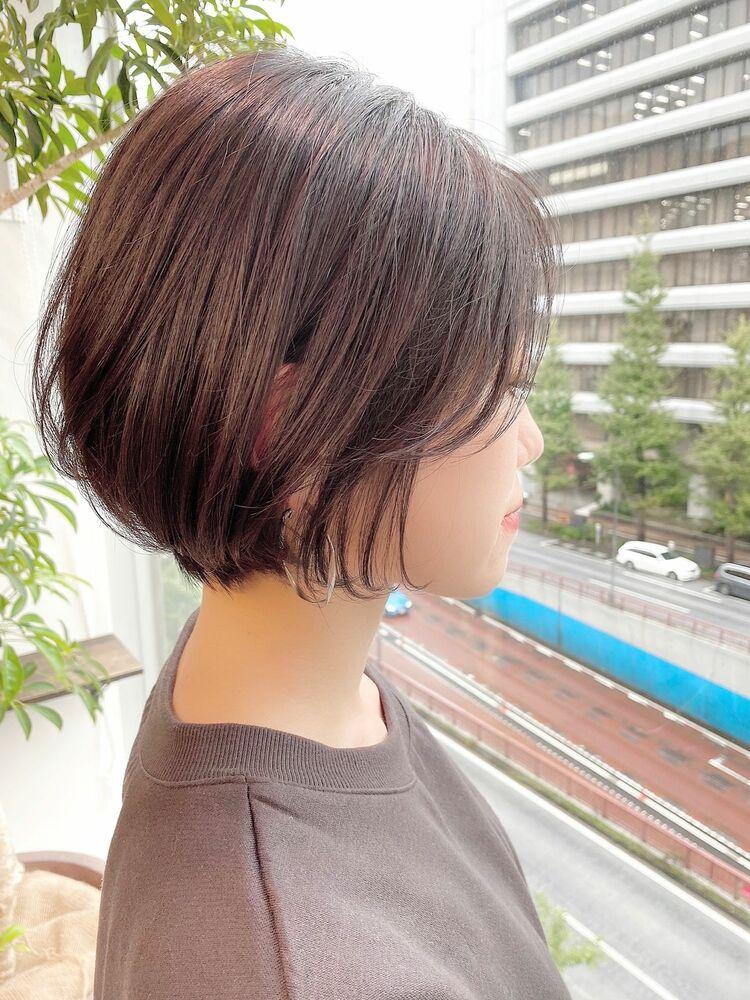銀座/VIE/つばさ☆カットが上手い◎大人女性の為の前下がりショートボブ