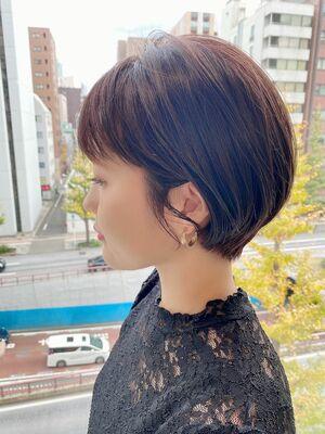銀座/VIE/つばさ☆カットが上手い◎ステキな大人ショートヘア