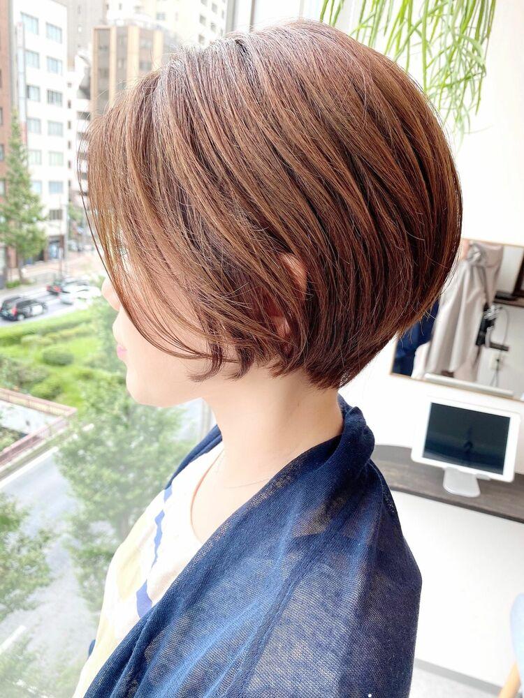 表参道・青山/VIE/つばさ☆カットが上手い◎大人女性のまとまるショートボブ
