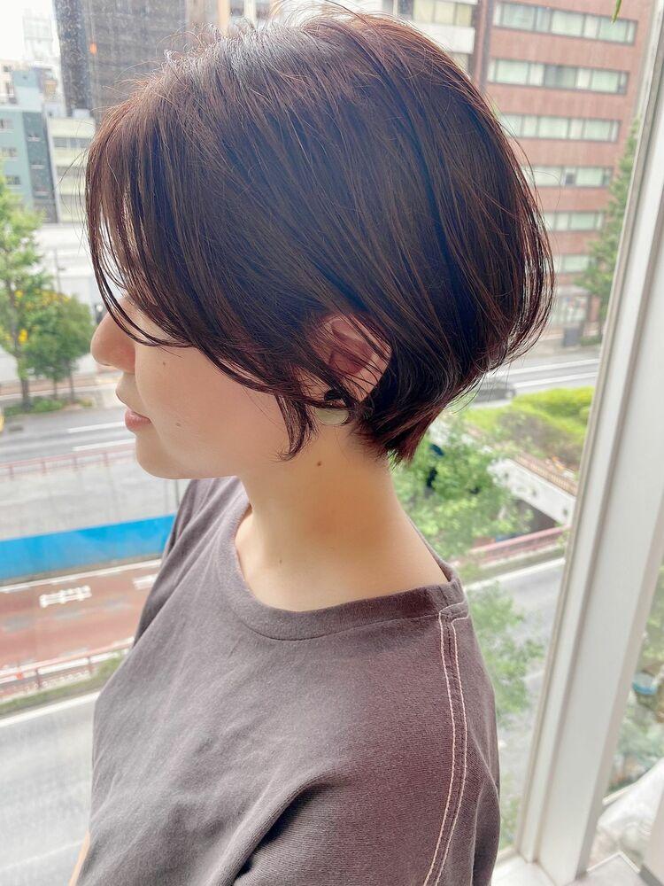 表参道・青山/VIE/つばさ☆カットが上手い◎ふんわり動きのあるハンサムショート