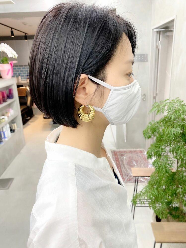 表参道・青山/VIE/つばさ☆カットが上手い◎キレイにまとまるボブスタイル