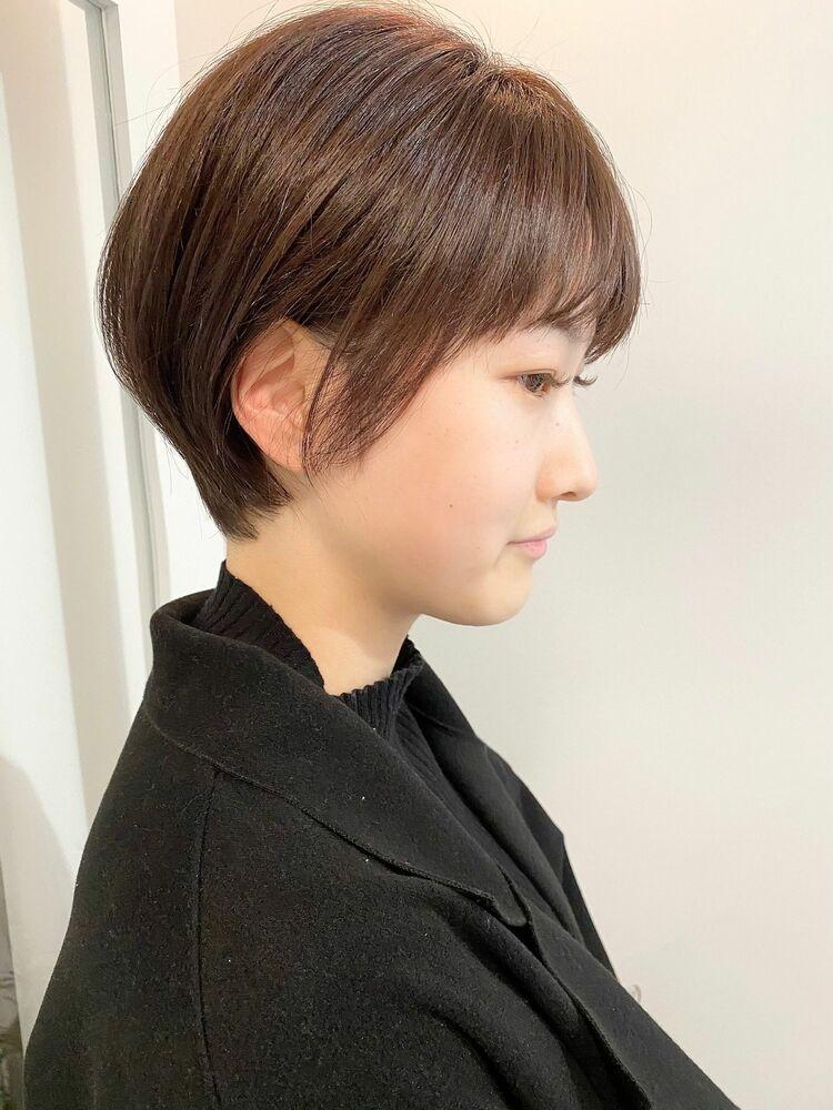 表参道・青山/VIE/つばさ☆カットが上手い◎ナチュラルに可愛いショートヘア