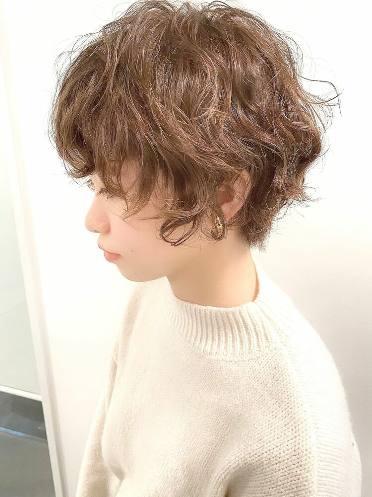 表参道・青山/VIE/つばさ☆カットが上手い◎オシャレなパーマショート