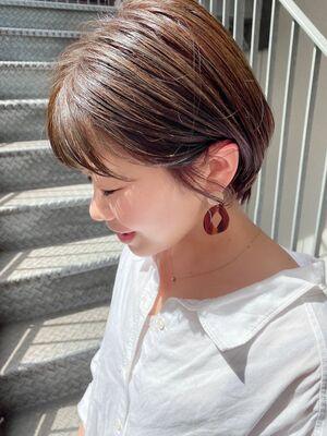 銀座/VIE/つばさ☆カットが上手い◎女性らしい耳かけショート