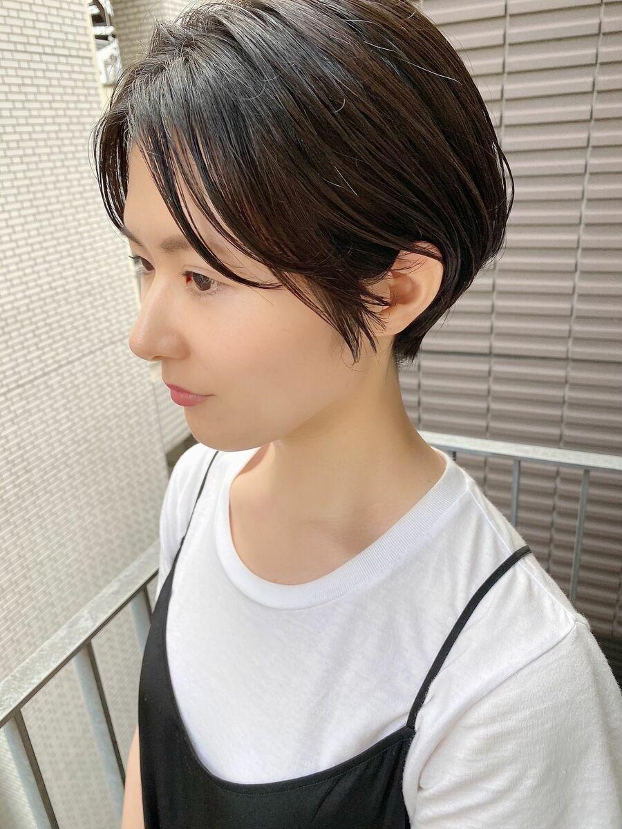 銀座/VIE/つばさ☆カットが上手い◎横顔美人なスッキリショート