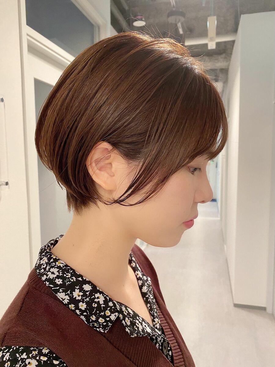 銀座/VIE/つばさ☆カットが上手い◎女性らしいふんわりショートボブ