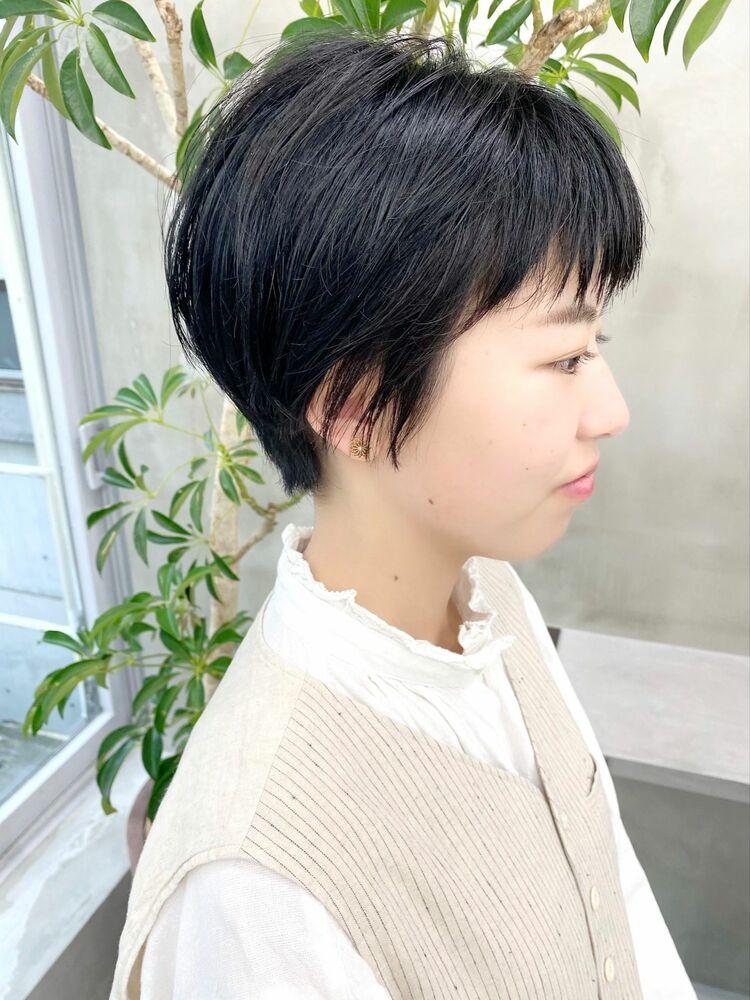 表参道・青山/VIE/つばさ☆カットが上手い◎スッキリショートヘア
