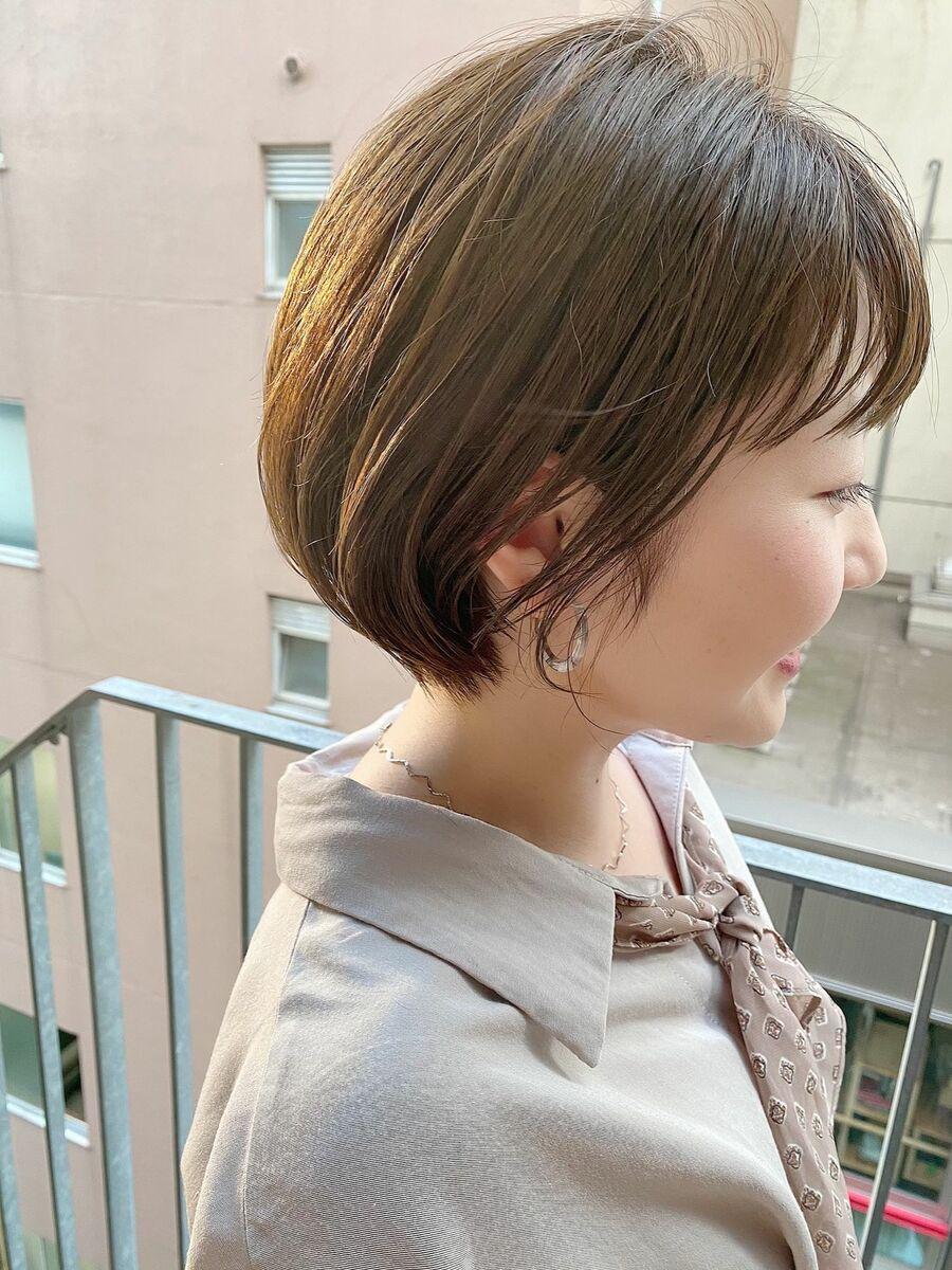 銀座/VIE/つばさ☆カットが上手い◎乾かすだけで可愛いショートボブ