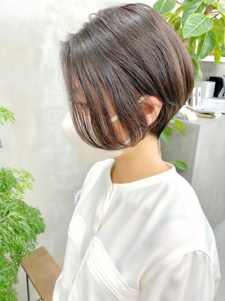 表参道・青山/VIE/つばさ☆カットが上手い◎前下がりショートボブ