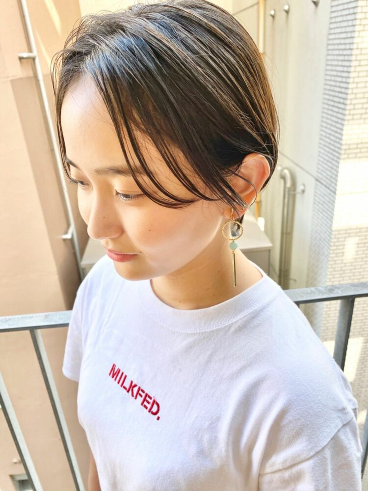 銀座/VIE/つばさ☆カットが上手い◎スタイリングが楽に決まるハンサムショート