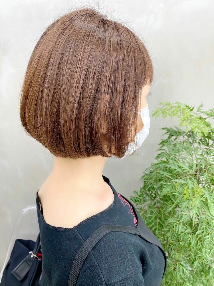 表参道・青山/VIE/つばさ☆カットが上手い◎ふんわり大人ボブ