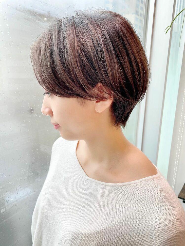 表参道・青山/VIE/つばさ☆カットが上手い◎ふんわりハンサムショート