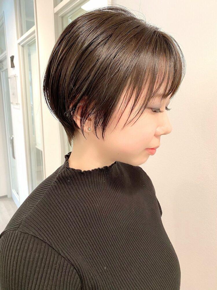 表参道・青山/VIE/つばさ☆カットが上手い◎横顔美人なショートヘア