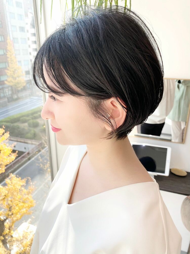 表参道・青山/VIE/つばさ☆カットが上手い◎女性らしいショートヘア