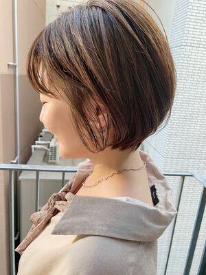 銀座/VIE/つばさ☆カットが上手い◎乾かすだけで可愛いふんわり丸みショート