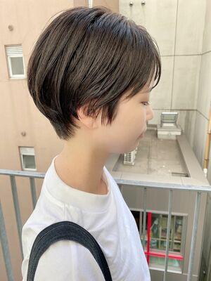 銀座/VIE/つばさ☆カットが上手い◎乾かすだけでまとまるスッキリショートヘア
