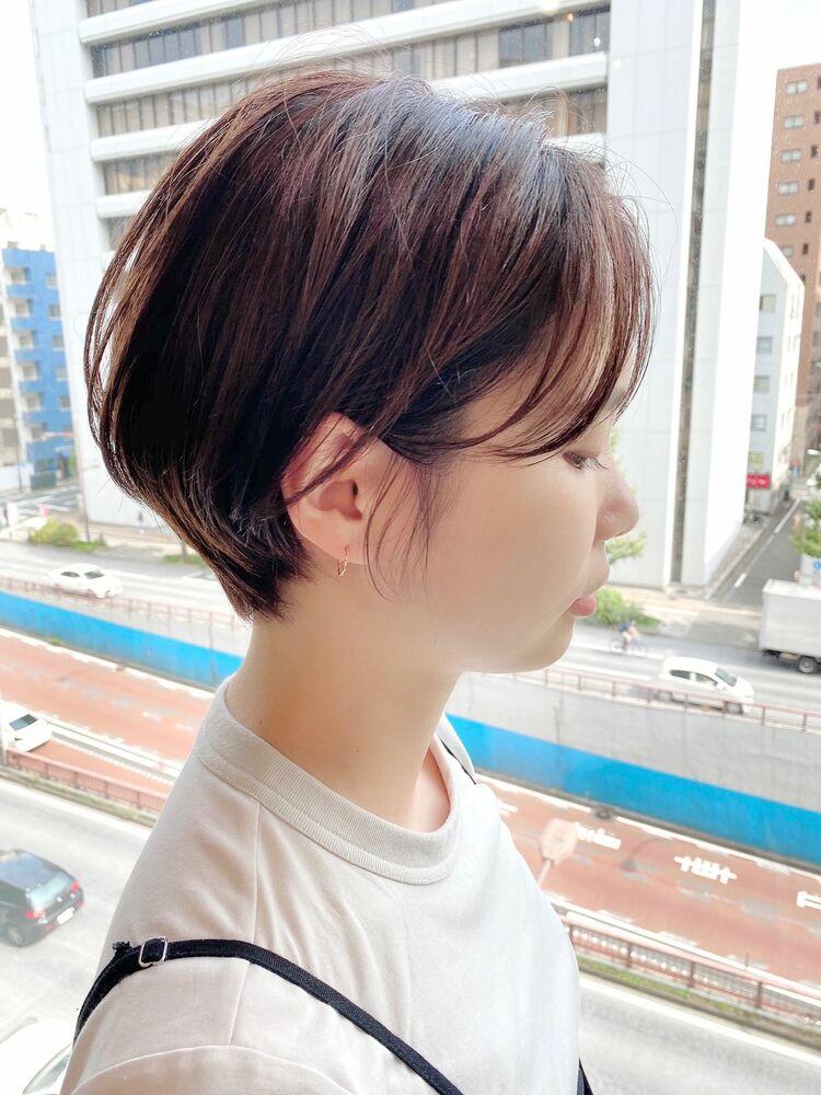 銀座/VIE/つばさ☆カットが上手い◎ふんわりハンサムショート