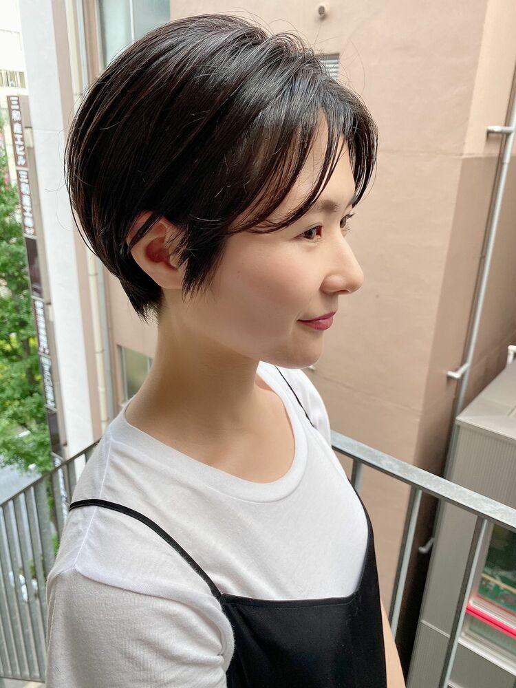 表参道・青山/VIE/つばさ☆カットが上手い◎キレイにまとまるハンサムショート
