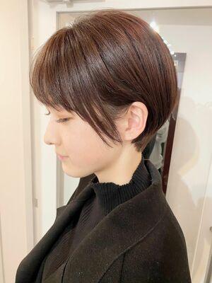 銀座/VIE/つばさ☆カットが上手い◎横顔美人なショートヘア