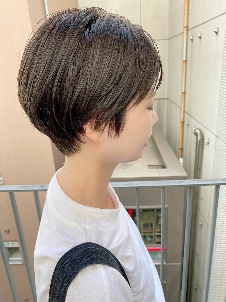 銀座/VIE/つばさ☆カットが上手い◎シルエットがキレイなショートヘア
