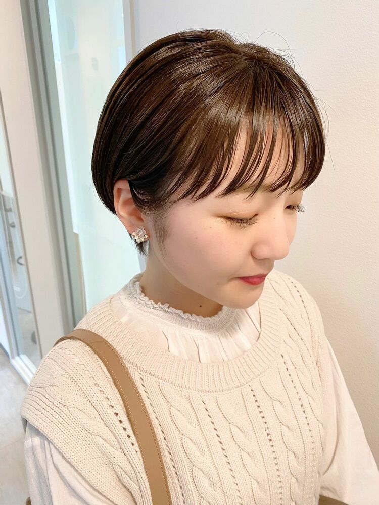 表参道・青山/VIE/つばさ☆カットが上手い◎大人可愛いストレートショート