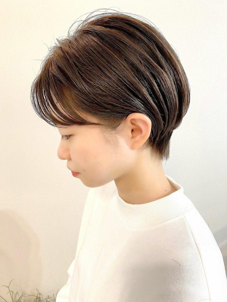 表参道・青山/VIE/つばさ☆カットが上手い◎乾かすだけでまとまるハンサムショート