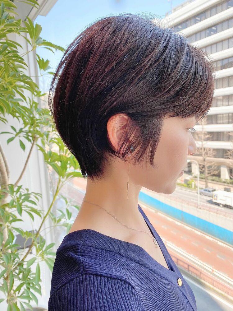 銀座/VIE/つばさ☆カットが上手い◎乾かすだけでまとまる大人女性ショート
