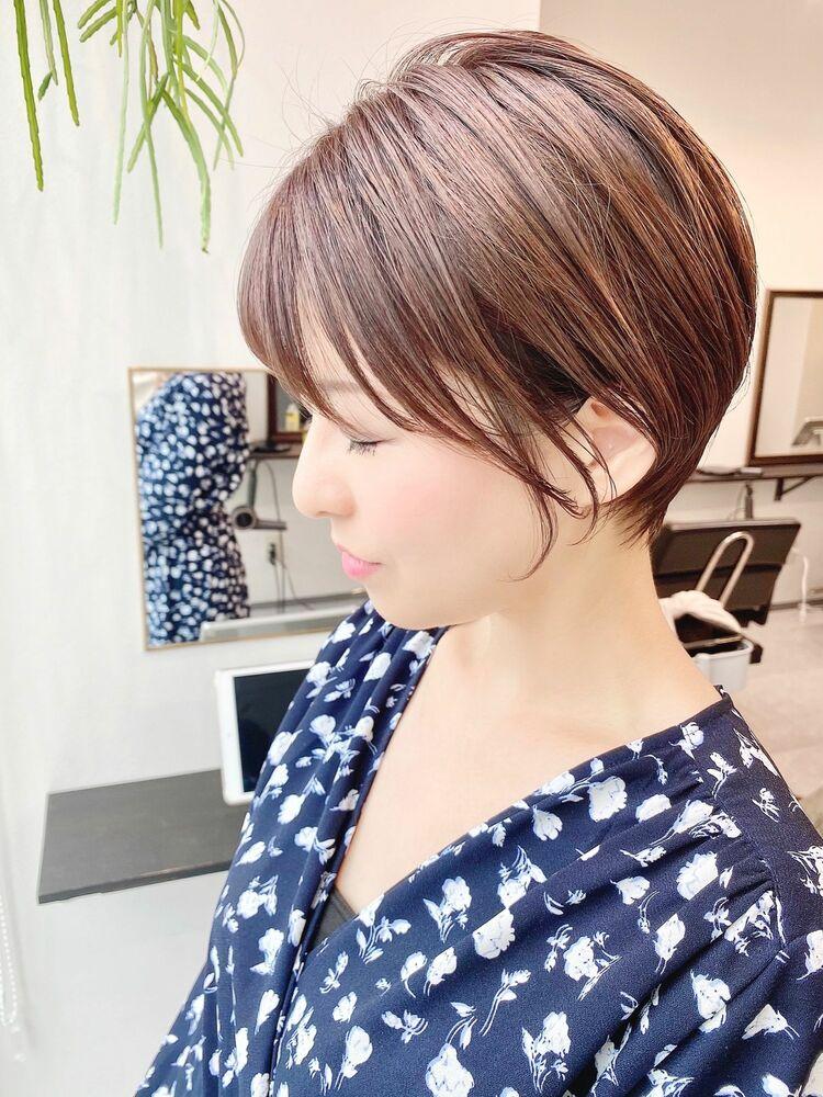 表参道・青山/VIE/つばさ☆カットが上手い◎ステキな大人女性ショート