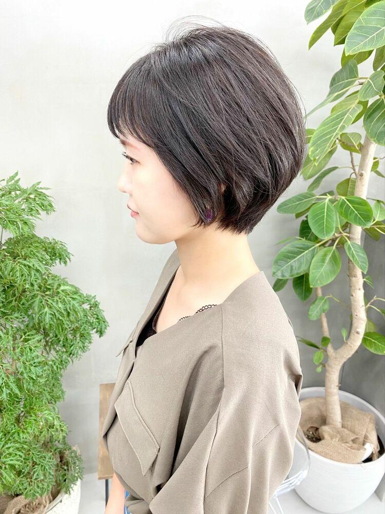 表参道・青山/VIE/つばさ☆カットが上手い◎ナチュラルに可愛いショートボブ