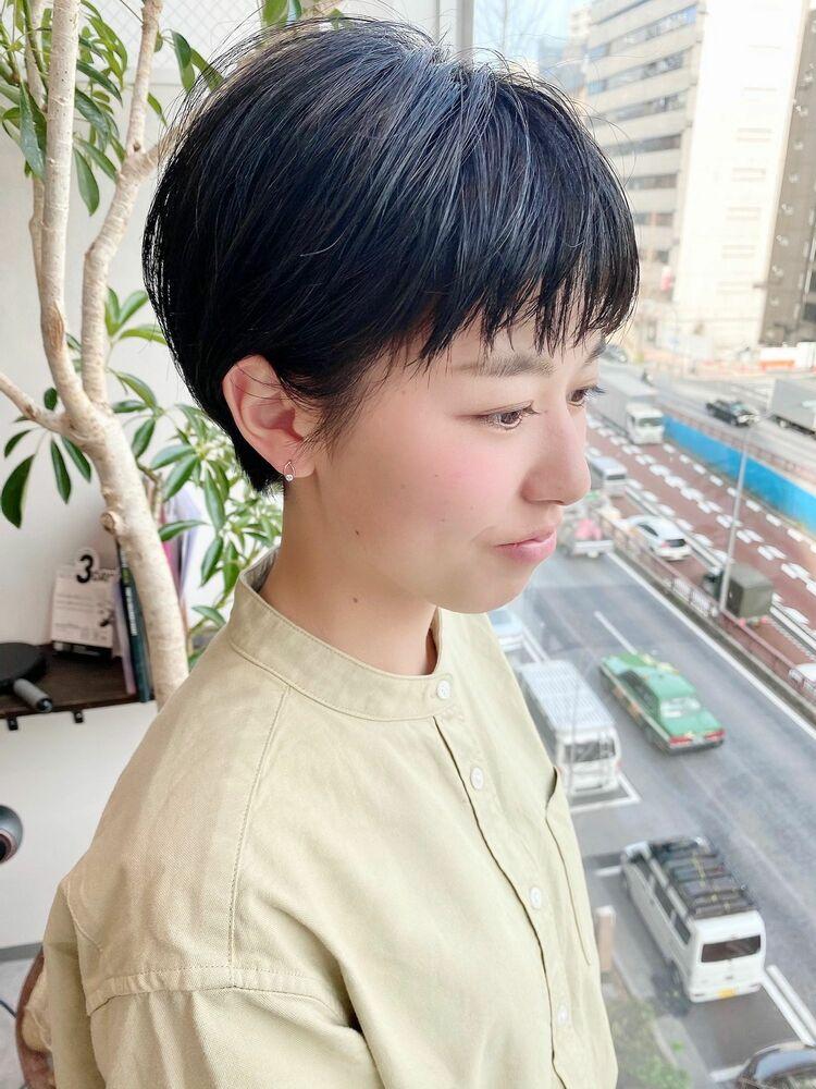 表参道・青山/VIE/つばさ☆カットが上手い◎スッキリオシャレなショートヘア