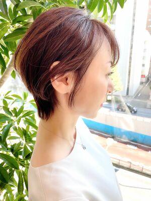 銀座/VIE/つばさ☆カットが上手い◎大人女性のウルフショート