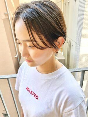 銀座/VIE/つばさ☆カットが上手い◎暗髪でもオシャレに決まるハンサムショート