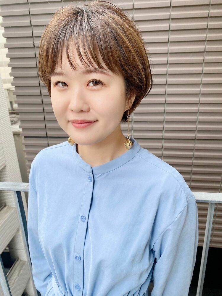 銀座/VIE/つばさ☆カットが上手い◎ふんわり可愛いショートヘア