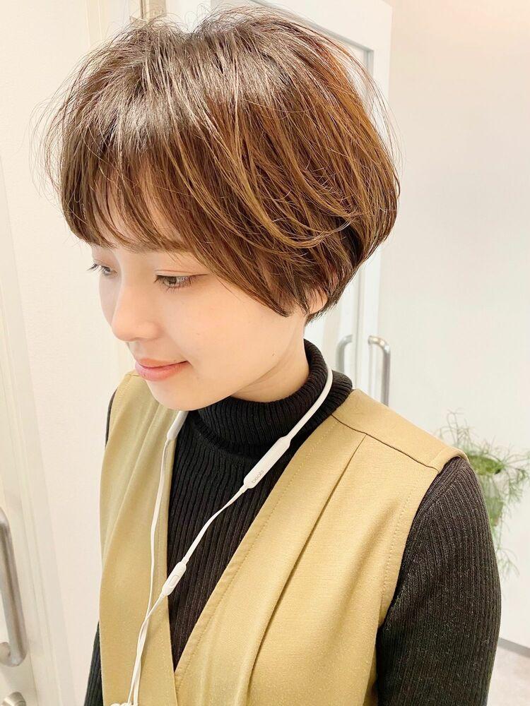 銀座/VIE/つばさ☆カットが上手い◎ふんわり動きのあるショートヘア