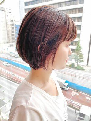 銀座/VIE/つばさ☆カットが上手い◎ふんわり女性らしいショートボブ