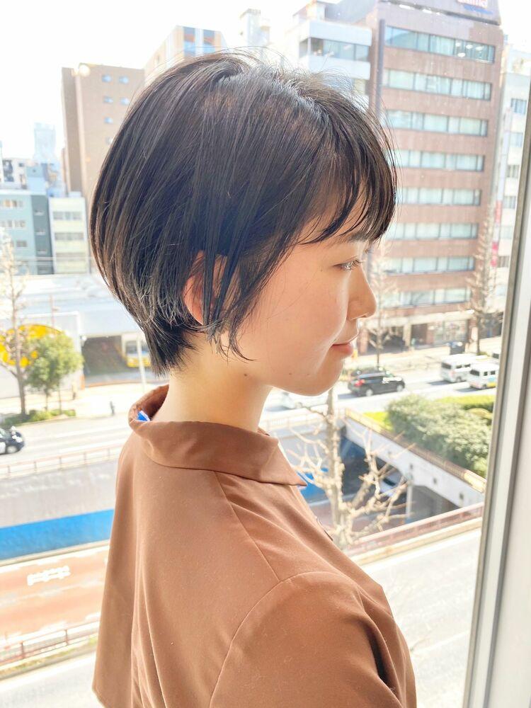 銀座/VIE/つばさ☆カットが上手い◎ナチュラルに可愛いスッキリショート